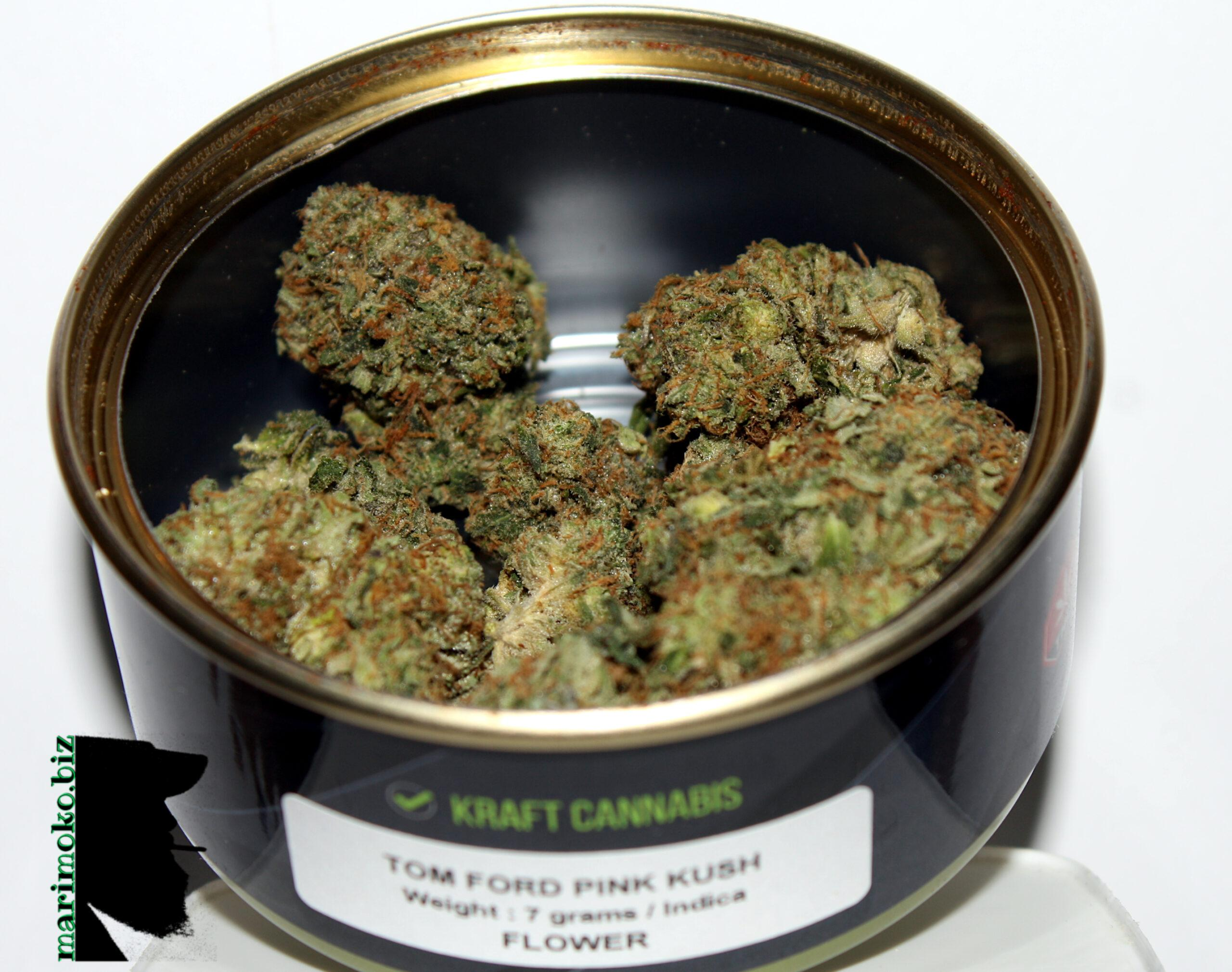 Pics & Videos • Tom Ford Pink Kush From DNMN