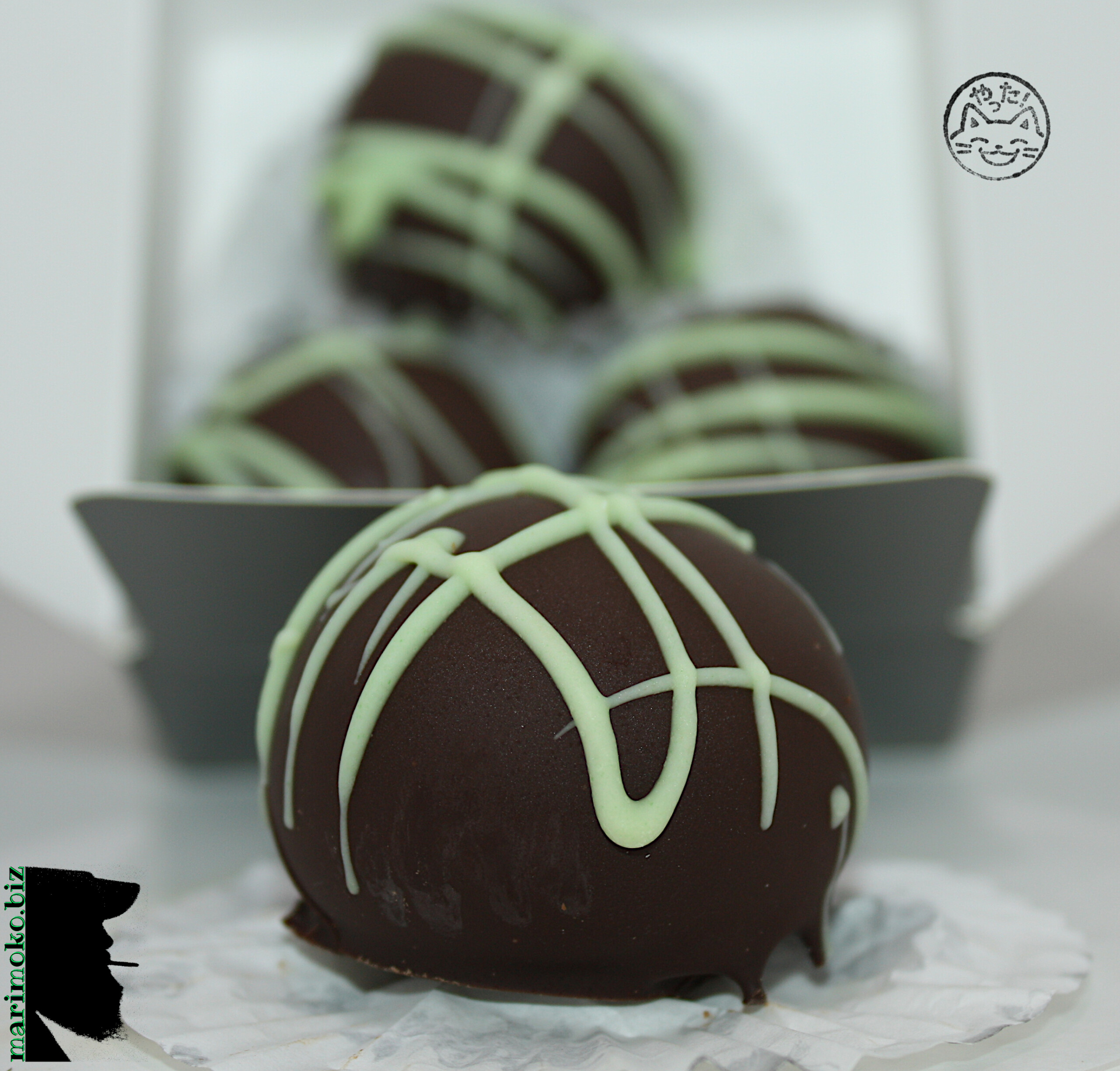 Turned Up Mint Truffles 125mg THC x4 From Entourage Edibles