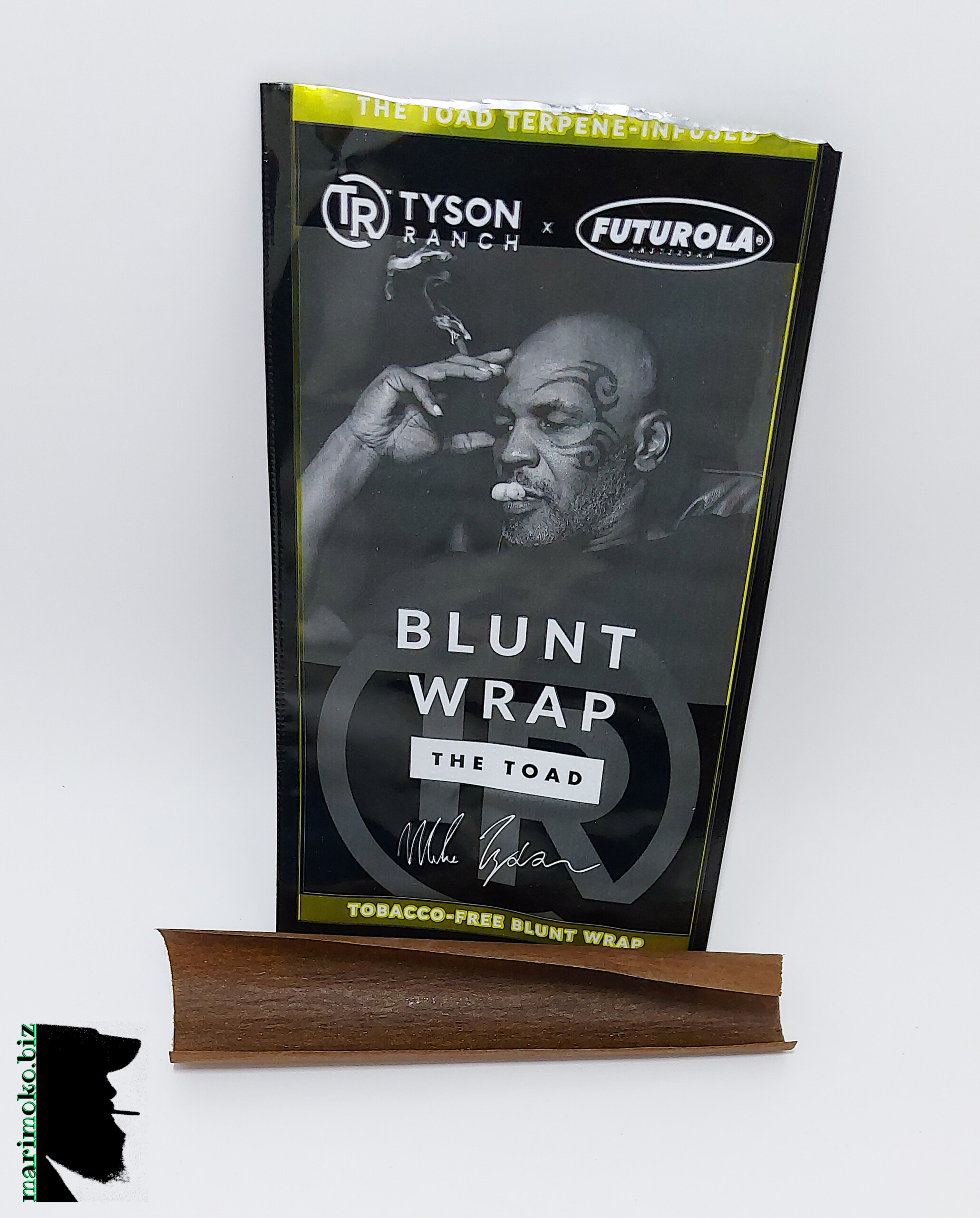 """Tyson Ranch x Futurola Tobacco-Free """"The Toad"""" Terpene Infused Blunt Wrap From Buy My Bud"""